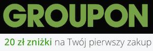 OKAZJA! 20 zł rabatu na wszystko na Groupon.pl