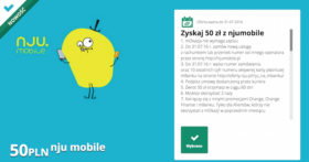 nju mobile mBank mOkazja lipiec 2016
